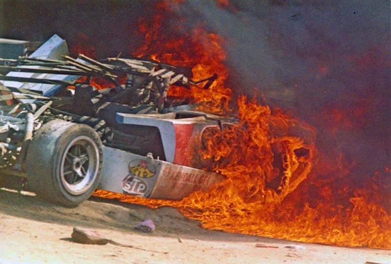 Can Am Car >> TGCanAm6CauseyLolaFire